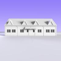 british bungalow semi detached 3ds