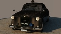 Police car Wolseley Six Ninety - Series II