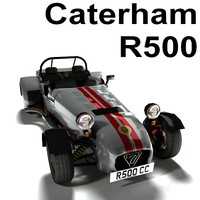 3d caterham r500 model