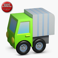 3d model construction icons 39 truck