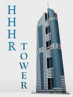 hhhr-tower dubai details 3d 3ds