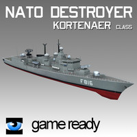 NATO Destroyer Battleship Frigate