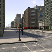 3ds max city new york