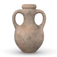 3d model of old vase