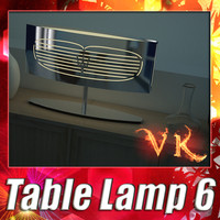 modern table lamp 06 3ds