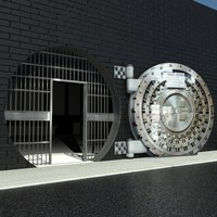 Round Vault - Safe Door
