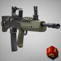 L85A2 assault rifle