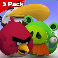 3 Pack: Angry Birds (Elders)
