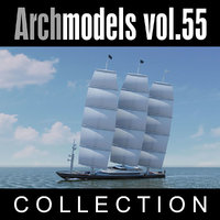 3d model of archmodels vol 55