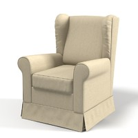 Arreda Italia Jenny Wing Armchair upholstery Traditional Classic