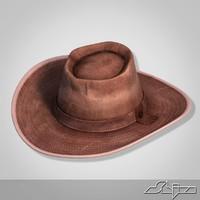 3ds max cowboy hat