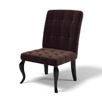 dining chair classic 3d obj