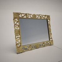3dsmax cattelan italia eldorado wall mirror