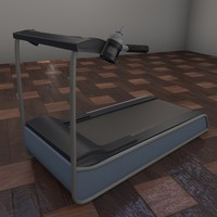 exercise treadmill 3d 3ds