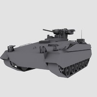 Marder 1A5 German Army APC game model