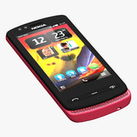 3ds nokia 500 red