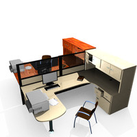 3ds max office modiling
