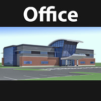 3d model office building