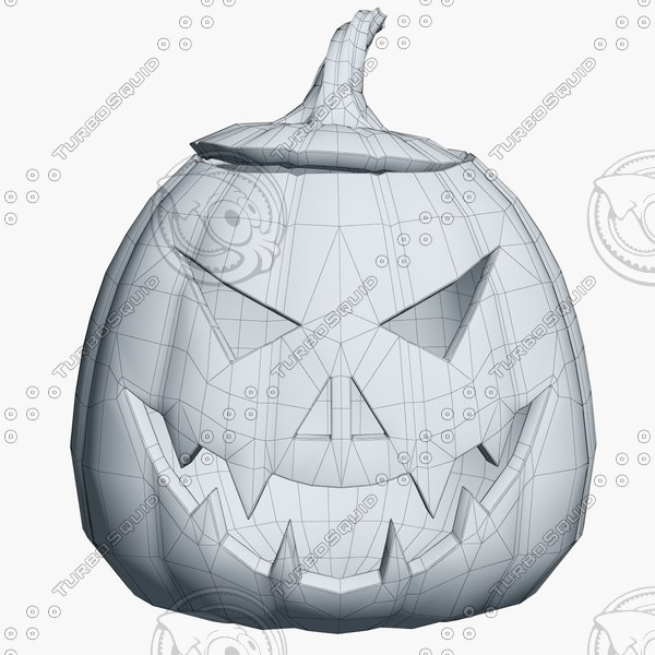 3d model halloween pumpkin heads - Halloween Pumpkin Heads Collection... by shiva3d