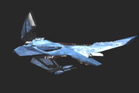 scorpion spacecraft 3d lwo