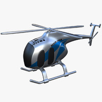 toy helicopter v4 3d model