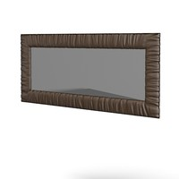 3d model wall decorative mirror