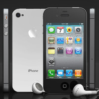 apple iphone 4s phone 3d model