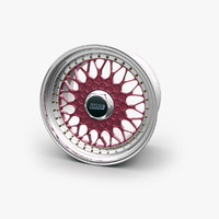 obj bbs rs car wheel