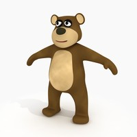 Cartoon Bear (Rigged)