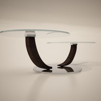 3ds max cattelan italia cobra coffee table