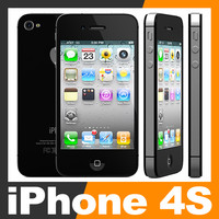 c4d apple iphone 4s 4