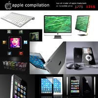 c4d apple ipad ipod nano