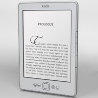 amazon kindle 4 3d model
