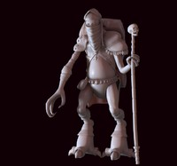 3ds max orc monsters character