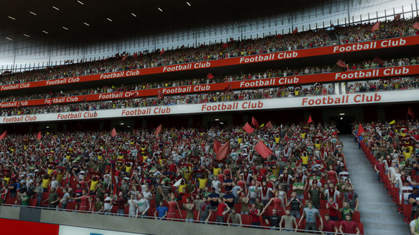 3ds max soccer arena fans animation - Soccer Stadium with Animated Fans... by dtp.3d