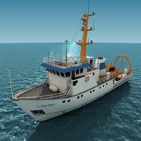 seismic piri reis 3d model