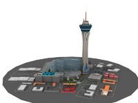stratosphere las vegas 3d model