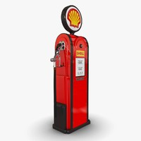 obj old gas pump