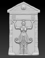 prototyping caryatids 3d model