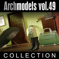 3d archmodels vol 49 shoes