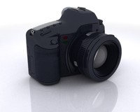 digital camera slr 3d max