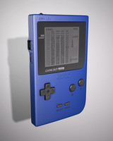 max gameboy pocket handheld