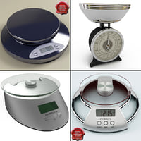3d kitchen scales model