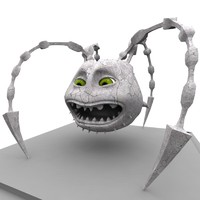 mouth ball fbx