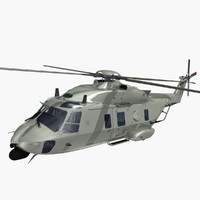 nhindustries helicopter italian army 3d dxf