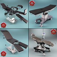 3d model operating tables