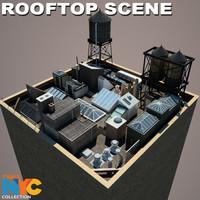 Truax Studio Rooftop Scene 01