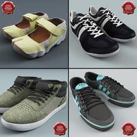 3d model sneakers v5