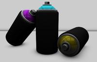 free spray 3d model