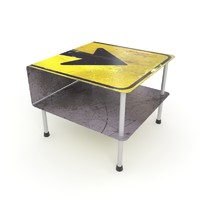 street table 3d max